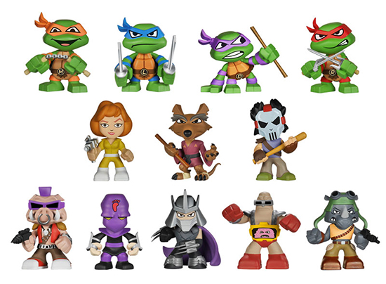 2014 Funko Teenage Mutant Ninja Turtles Mystery Minis Figures 550 width