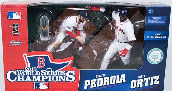 2014 McFarlane Boston Red Sox World Series Champions Figures Box Set 1