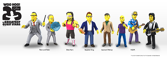 NECA Simpsons 25 of the Greatest Guest Stars Figures 3