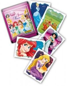 2014 Panini Disney Glamour Princess Stickers 1