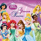 2014 Panini Disney Glamour Princess Stickers