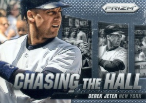 2014 Panini Prizm Baseball Chasing the Hall Derek Jeter