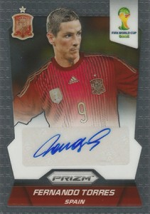 Global Graphs: 2014 Panini Prizm World Cup Soccer Autographs 48