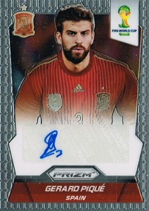 Global Graphs: 2014 Panini Prizm World Cup Soccer Autographs 43