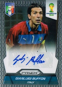 2014 Panini Prizm World Cup Autographs Gianluigi Buffon