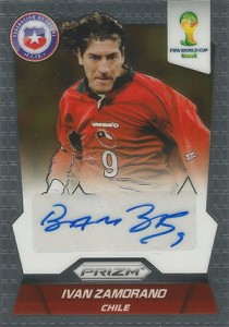 Global Graphs: 2014 Panini Prizm World Cup Soccer Autographs 50