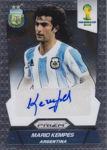 Global Graphs: 2014 Panini Prizm World Cup Soccer Autographs 36