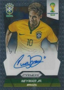 2014 Panini Prizm World Cup Autographs Neymar Jr