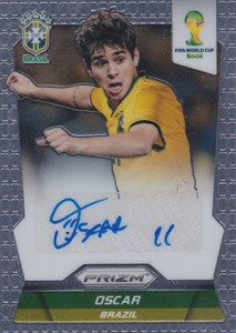 Global Graphs: 2014 Panini Prizm World Cup Soccer Autographs 41