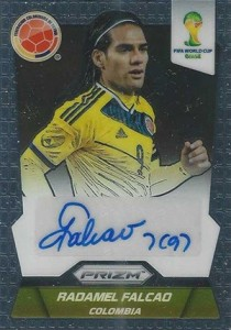 2014 Panini Prizm World Cup Autographs Radamel Falcao