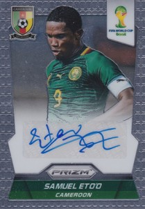 Global Graphs: 2014 Panini Prizm World Cup Soccer Autographs 7