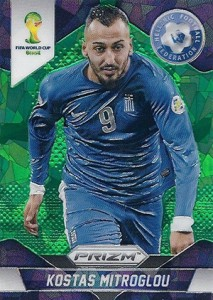 Chasing the 2014 Panini Prizm World Cup Soccer Rainbow 5