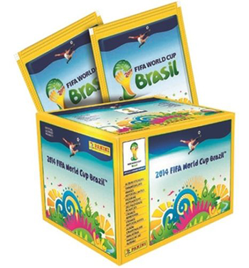 2014 Panini World Cup Soccer Stickers Box