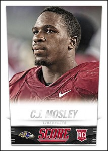 2014 Score Football CJ Mosley