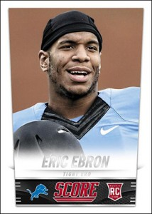 2014 Score Football Eric Ebron