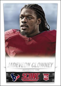 2014 Score Football Jadeveon Clowney