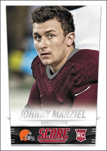 2014 Score Football Johnny Manziel