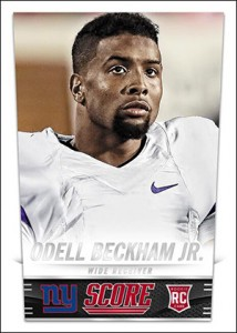 2014 Score Football Odell Beckham Jr