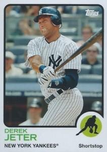 2014 Topps Archives Baseball Base Derek Jeter