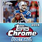 2014 Topps Chrome Football Cards