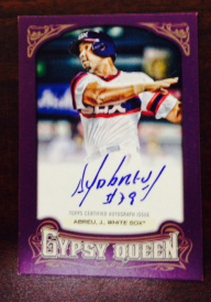 Mystery Redemptions for 2014 Topps Series 1, Museum Collection, Gypsy Queen Named 1