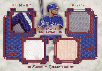 2014 Topps Museum Collection Primary Pieces Edwin Encarnacion