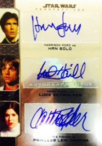 May the On-Card Autographs Be with You in 2014 Topps Star Wars Chrome Perspectives 9