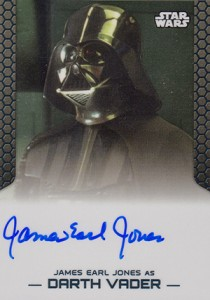 2014 Topps Star Wars Chrome Perspectives Autographs James Earl Jones as Darth Vader