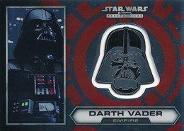 2014 Topps Star Wars Chrome Perspectives Helmet Medallions Guide, Short Prints 1