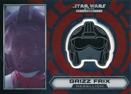 2014 Topps Star Wars Chrome Perspectives Helmet Medallions Guide, Short Prints 22