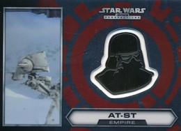 2014 Topps Star Wars Chrome Perspectives Helmet Medallions Guide, Short Prints 25