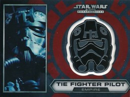 2014 Topps Star Wars Chrome Perspectives Helmet Medallions Guide, Short Prints 11