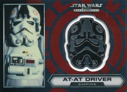 2014 Topps Star Wars Chrome Perspectives Helmet Medallions Guide, Short Prints 12