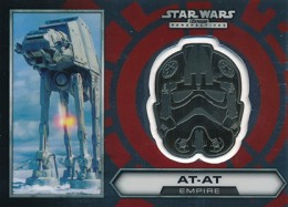 2014 Topps Star Wars Chrome Perspectives Helmet Medallions Guide, Short Prints 27