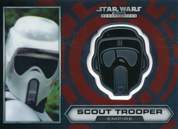 2014 Topps Star Wars Chrome Perspectives Helmet Medallions Guide, Short Prints 13