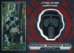 2014 Topps Star Wars Chrome Perspectives Helmet Medallions Guide, Short Prints 28