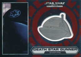 2014 Topps Star Wars Chrome Perspectives Helmet Medallions Guide, Short Prints 14