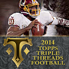2014 Topps Triple Threads Football Cards