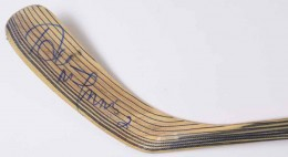Al MacInnis Signed Stick