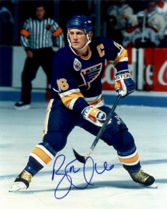 Brett Hull Signed Photo
