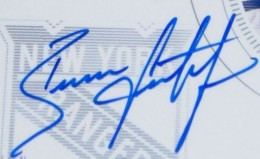 Brian Leetch Signature Example