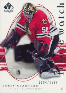 Corey Crawford Cards, Rookie Cards and Autographed Memorabilia Guide 1