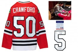 Corey Crawford Signed Jersey
