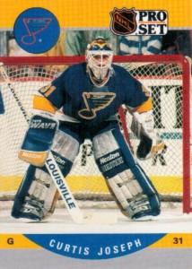 Curtis Joseph 1990-91 Pro Set RC