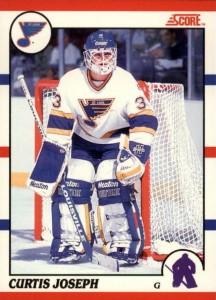 Curtis Joseph 1990-91 Score Canada RC