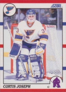 Curtis Joseph 1990-91 Score RC