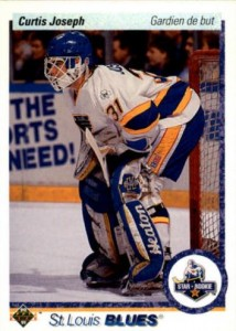 Curtis Joseph 1990-91 Upper Deck FrenchRC