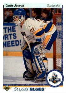 Curtis Joseph 1990-91 Upper Deck RC