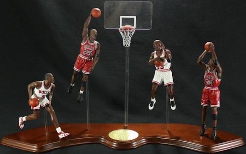 Danbury Mint Michael Jordan Figures