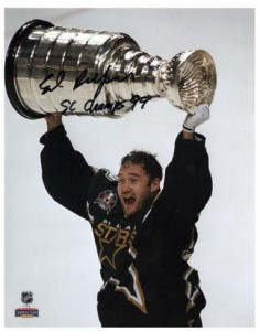 Ed Belfour Signed Photo